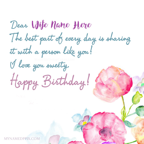 birthday wishes for wife greeting cards ; Wife-Birthday-Wishes-Name-Greeting-Card-Pictures-Create-1