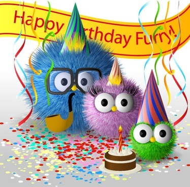 birthday wishes free images ; cartoon_birthday_card_01_vector_181120