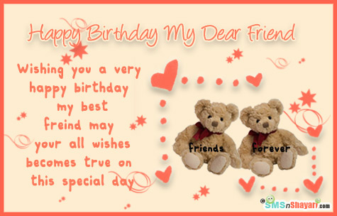 birthday wishes greeting cards for best friend ; 31390a89eac47d08c481f7a263fb7f03