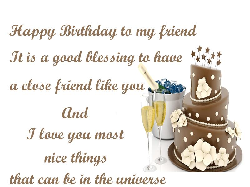 birthday wishes greeting cards for best friend ; 919c7d5c72bc04544389df065bd3264e