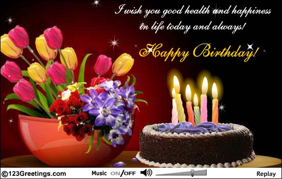 Birthday Wishes Greeting Cards For Facebook Happy