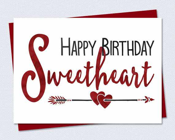 birthday wishes greeting cards for girlfriend ; 1aa2368a0725b10cc86e7b5a928f5203
