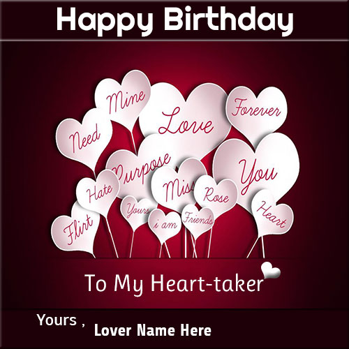 Birthday Wishes Greeting Cards For Lover 6b52fa1483fed1911b45adedce324e8a