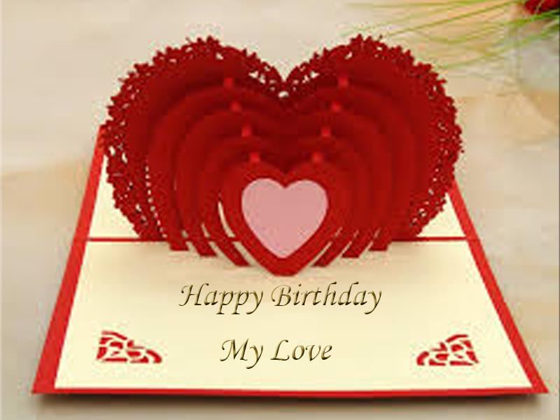 Birthday Wishes Greeting Cards For Lover Lover2342