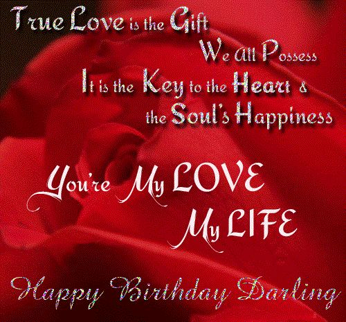 Birthday Wishes Greeting Cards For Lover My Love