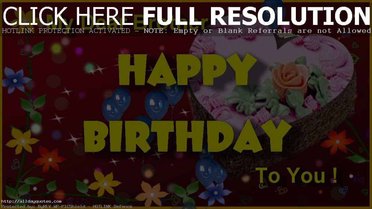 birthday wishes images free download ; Happy-Birthday-Images-For-Brother-Free-Download