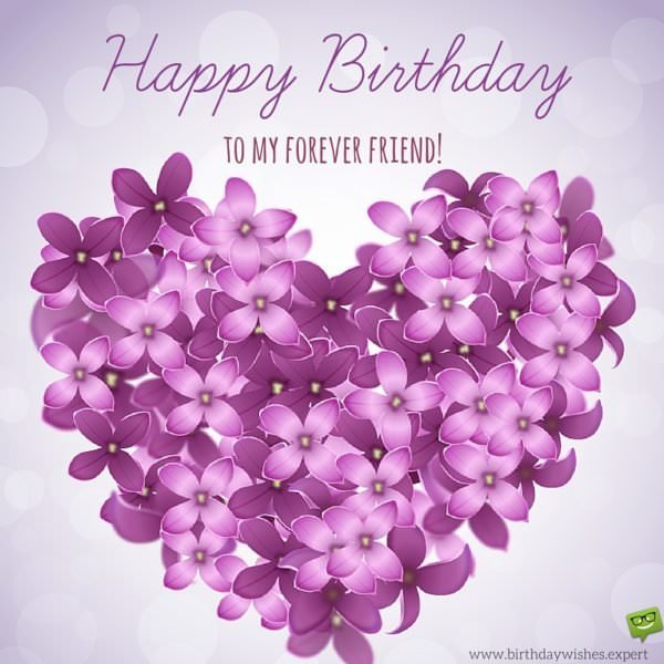 birthday wishes images free download ; Happy-Birthday-to-my-forever-friend