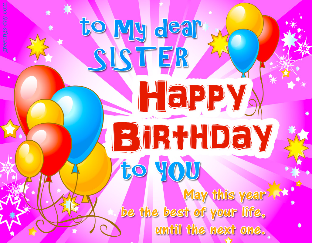 birthday wishes images hd free download ; Happy-birthday_to_sister