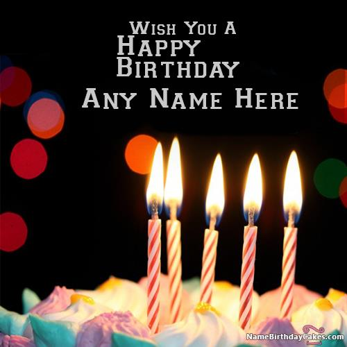 birthday wishes images with name and photo ; awesome-candles-happy-birthday-wishes-with-name-3177