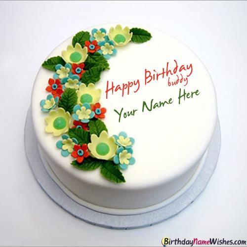 birthday wishes images with name and photo ; happy-birthday-wishes-cake-for-friend-with-name-editor-bc87