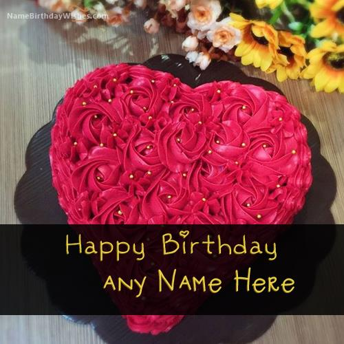 birthday wishes images with name and photo ; heart-cake-for-birthday-wishes-with-name70ab