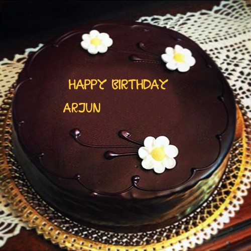 birthday wishes images with name and photo on cake ; Arjun_382_1462286330_80153468