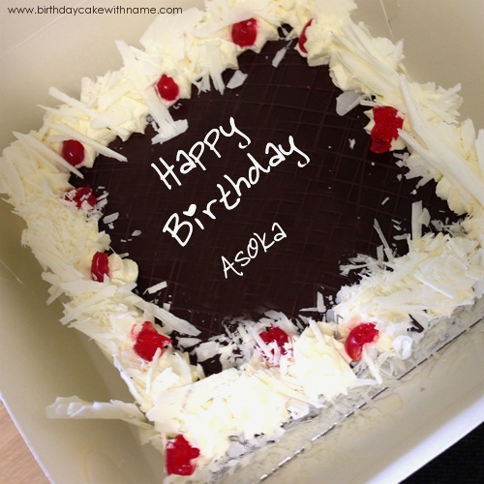 birthday wishes images with name and photo on cake ; amazing-birthday-cake-with-name-black-forest-forest-birthday-cake