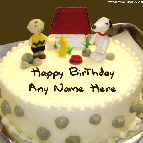 birthday wishes images with name and photo on cake ; children-name-birthday-cake-image