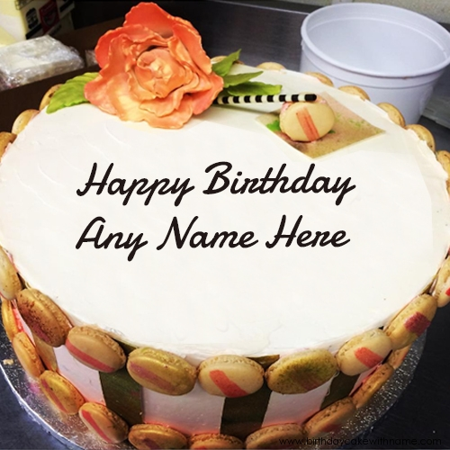 birthday wishes images with name and photo on cake ; dear-brother-birthday-cake-name-pictures