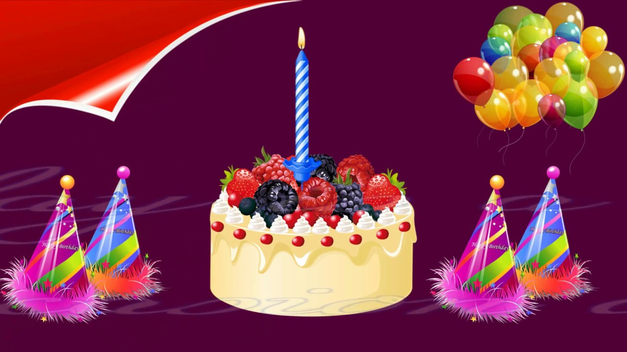 birthday wishes in animation picture ; maxresdefault