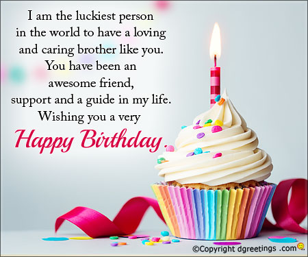 birthday wishes message for brother ; i-wish-and-pray