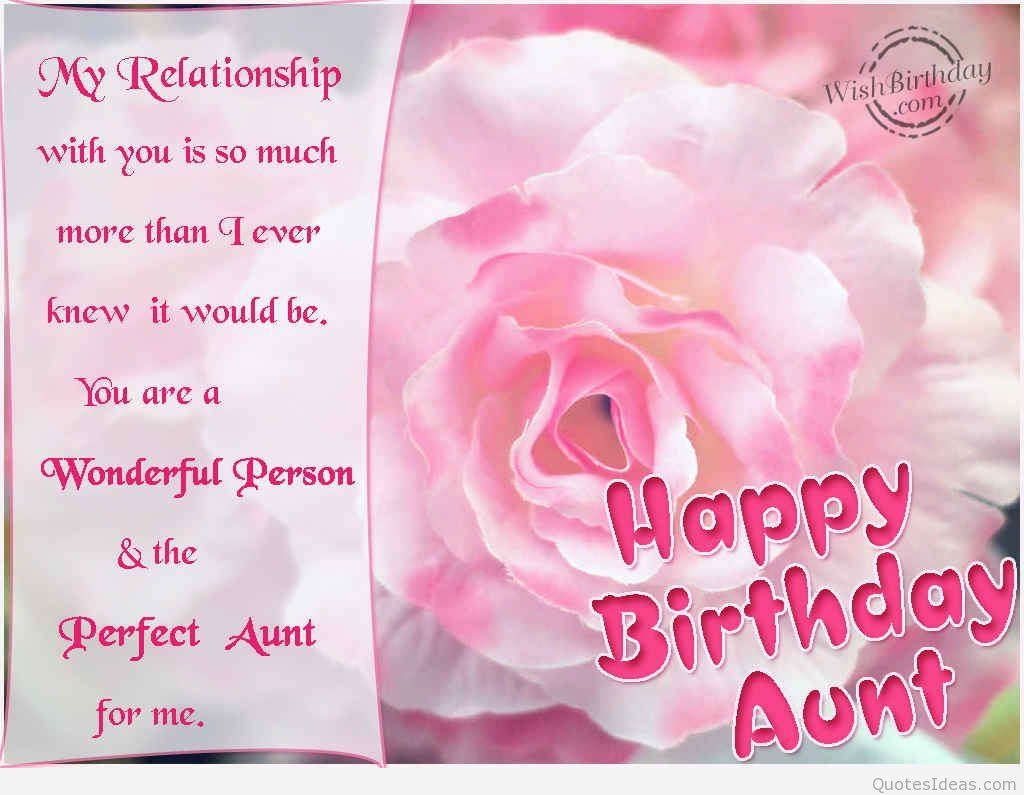 birthday wishes message to aunty ; 923