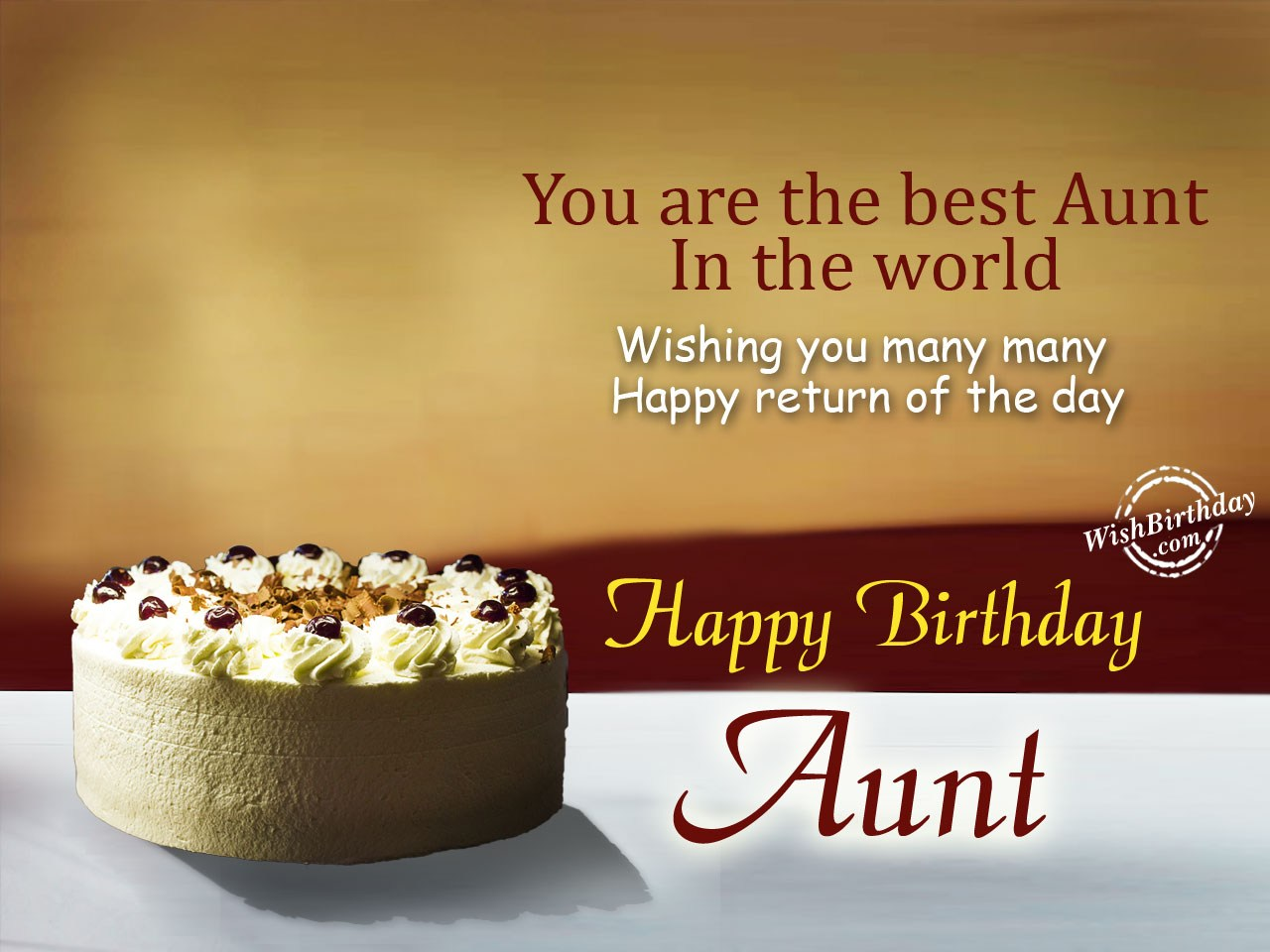 birthday wishes message to aunty ; Birthday-Messages-for-Aunt-image-5