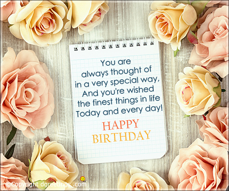 birthday wishes picture with quotes ; you-are-always