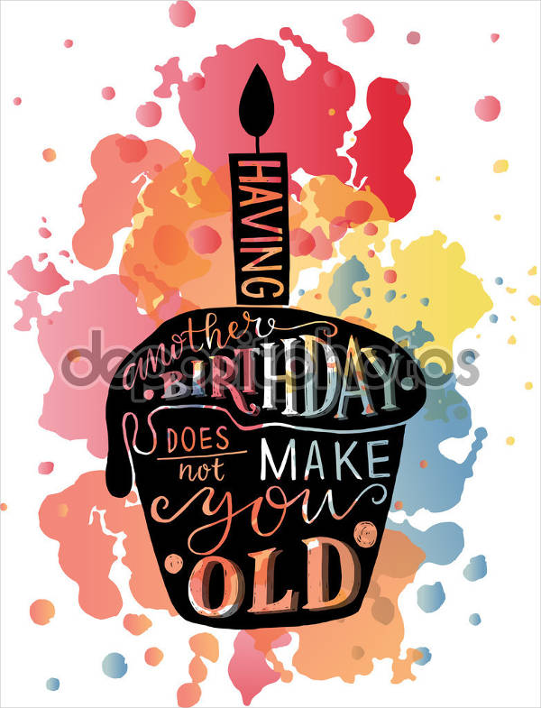 birthday wishes posters ; Birthday-Wishes-Cake-Poster