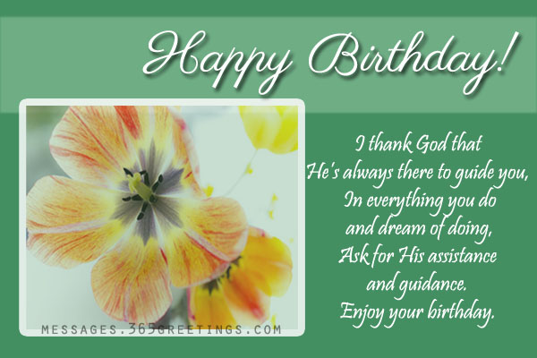 birthday wishes religious message ; 3468f6a7983c8bef42d14f604fa970ae