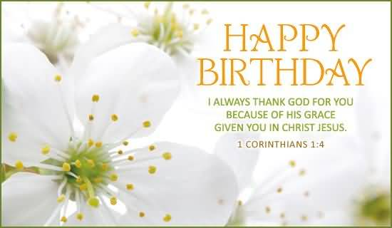 birthday wishes religious message ; Lovely-Birthday-Wishes-For-Christian-E-Card