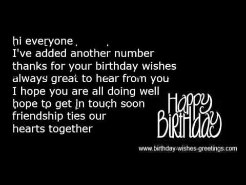 birthday wishes reply message to all ; hqdefault
