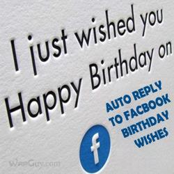 birthday wishes reply thanks message ; auto-reply-to-facebook-bday