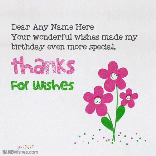 birthday wishes return thanks message ; thanks-for-birthday-wishes-card-with-namec1f2