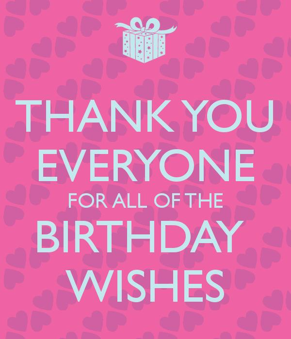 birthday wishes thanks message facebook ; 34d76c99650aee027a8f29cb736a7743