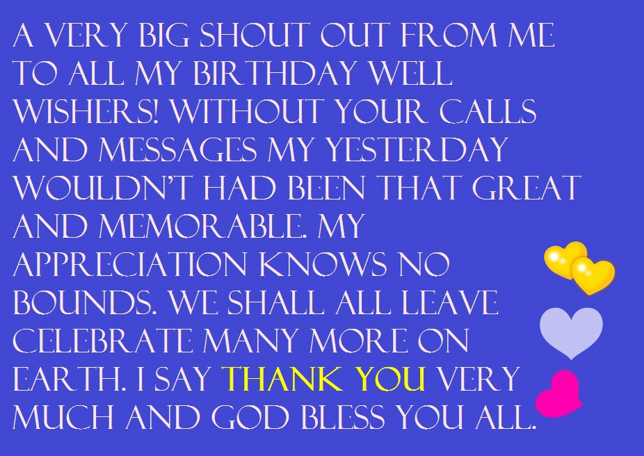 birthday wishes thanks message facebook ; thanks-for-birthday-wishes