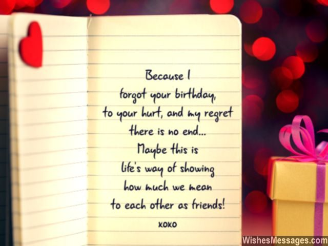 birthday wishes to message ; Belated-birthday-message-for-friends-cute-note-with-heart-640x480