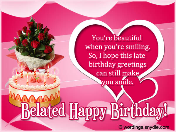 birthday wishes to message ; belated-birthday-wishes