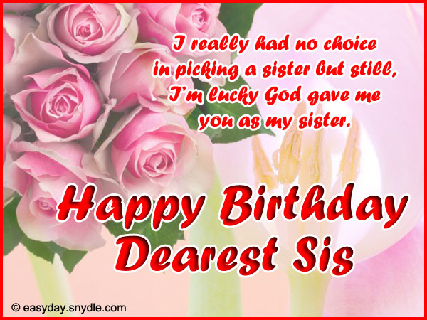 birthday wishes to my sister greeting cards ; birthday-wishes-for-sister