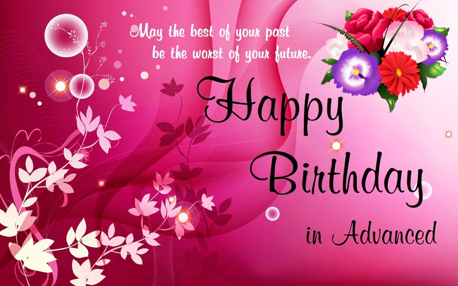birthday wishes wallpaper ; advance-birthday-wishes-beautiful-happy-birthday-wishes-wallpapers-get-the-newest-collection-of-layout-of-advance-birthday-wishes