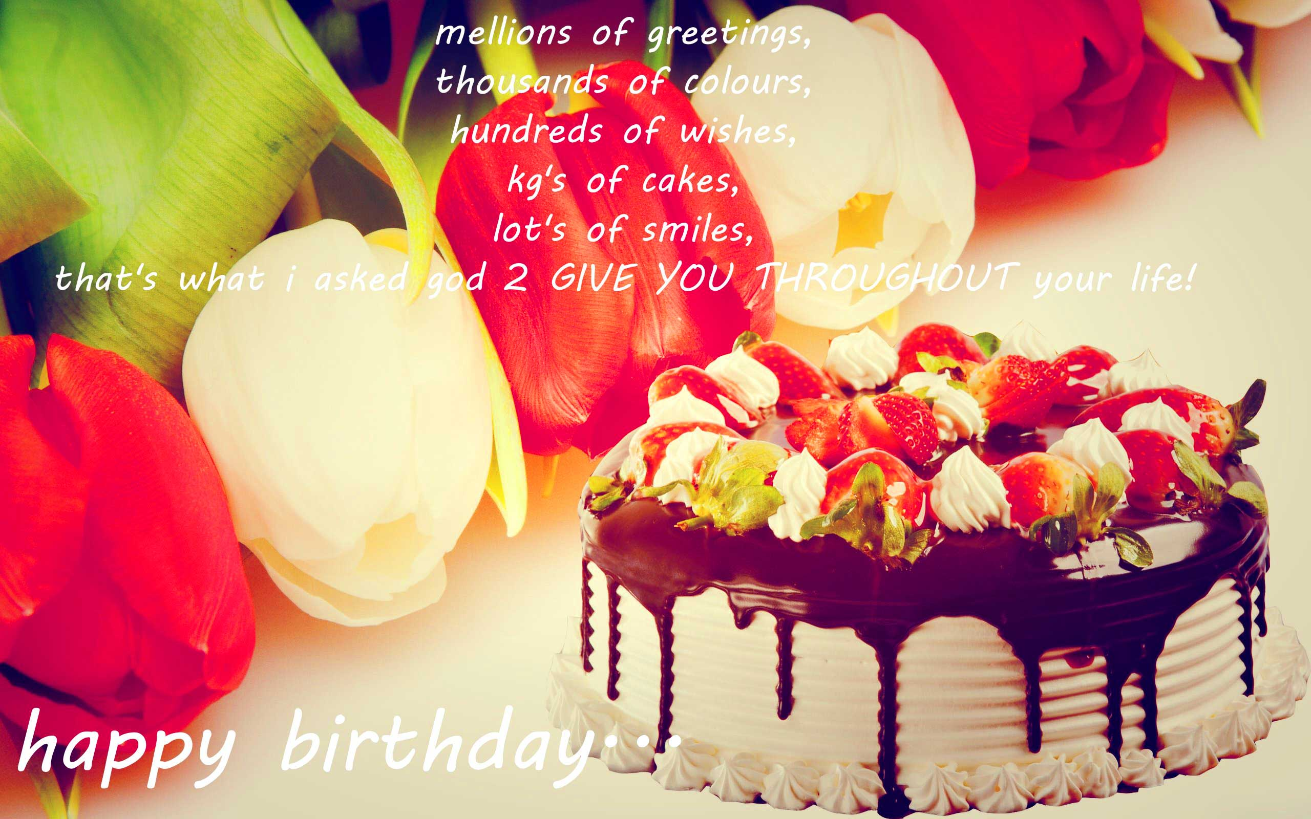 birthday wishes wallpaper download ; birthday-wishes-cake-name