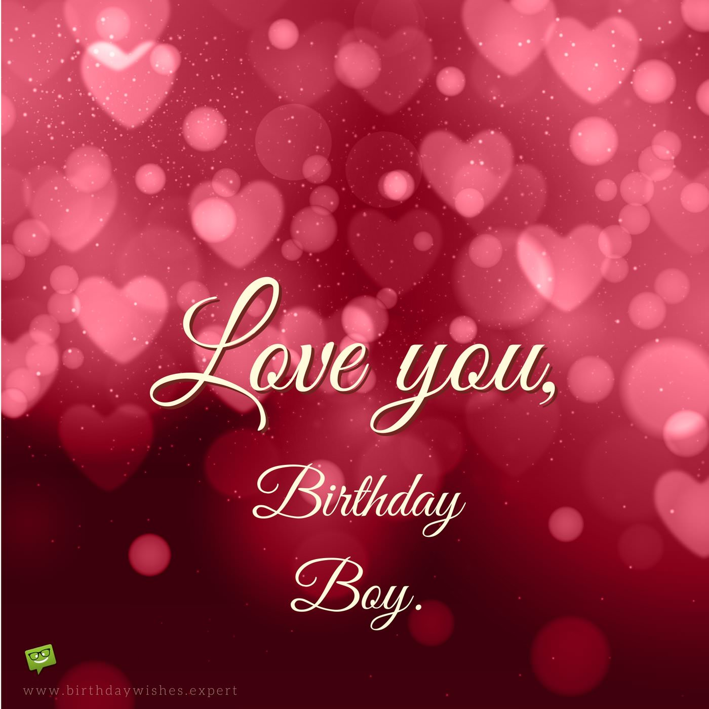 birthday wishes wallpaper for lover ; Birthday-wish-for-boyfriend-on-background-with-red-hearts