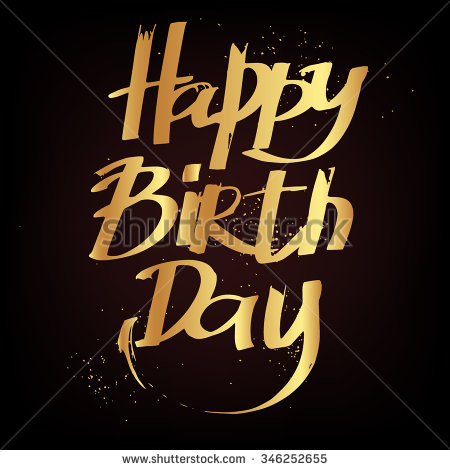 black label birthday ; stock-vector-hand-draw-lettering-happy-birthday-vector-happy-birthday-illustration-for-your-design-happy-346252655