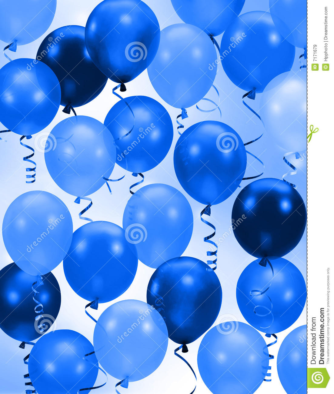 blue birthday wallpaper ; party-blue-balloons-background-7171679