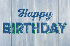 blue happy birthday sign ; wooden-wall-inscription-happy-birthday-blue-56720656