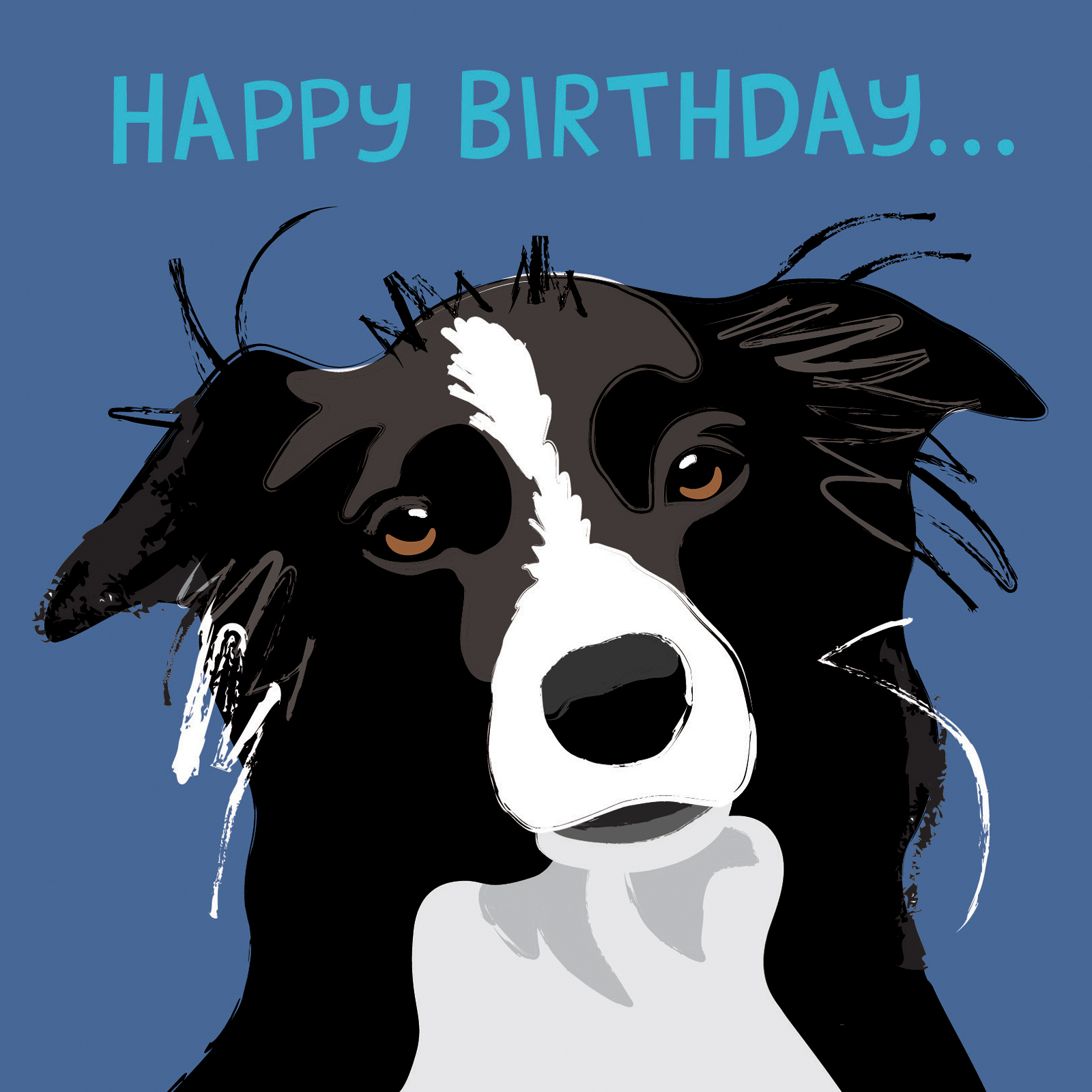 border collie happy birthday card ; Border-Collie-Birthday-Card-is-comely-ideas-which-can-be-applied-into-your-birthday-Card-1
