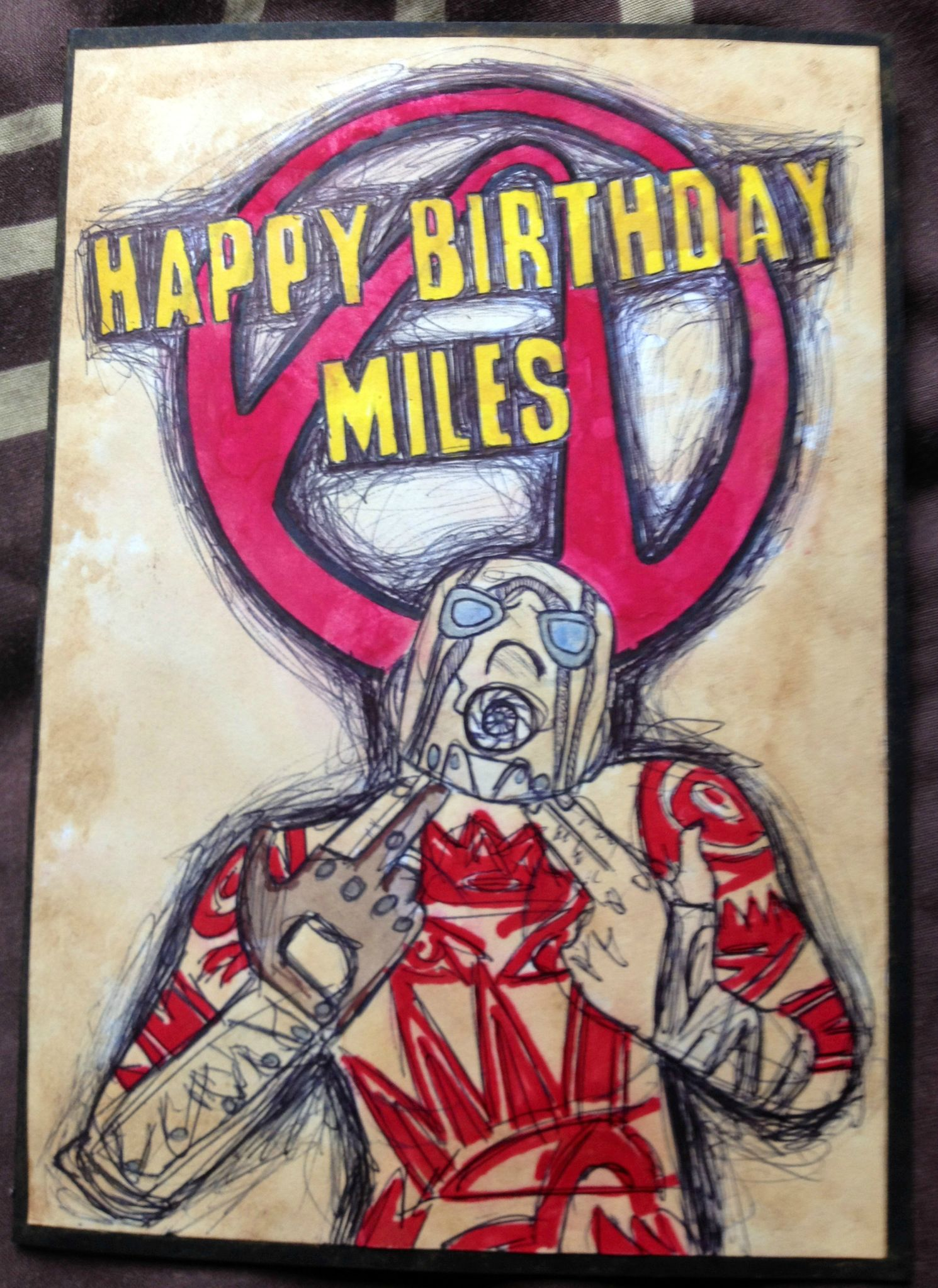 borderlands birthday card ; m9kZs4g