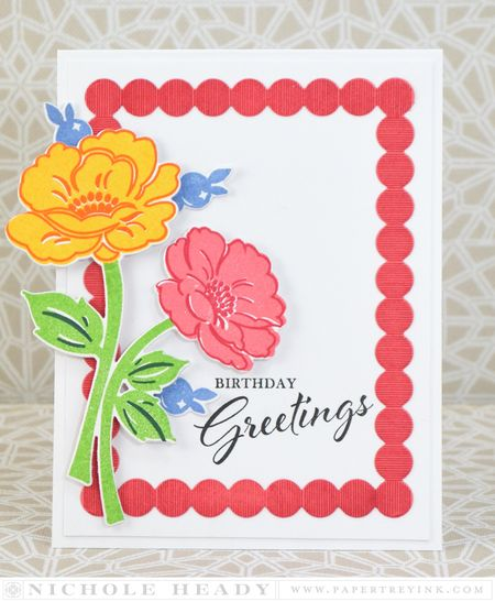 borders for birthday greeting cards ; 0864-2
