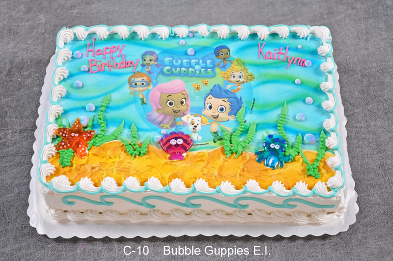 Pleasant Bubble Guppies Birthday Sheet Cake Best Happy Birthday Wishes Birthday Cards Printable Trancafe Filternl
