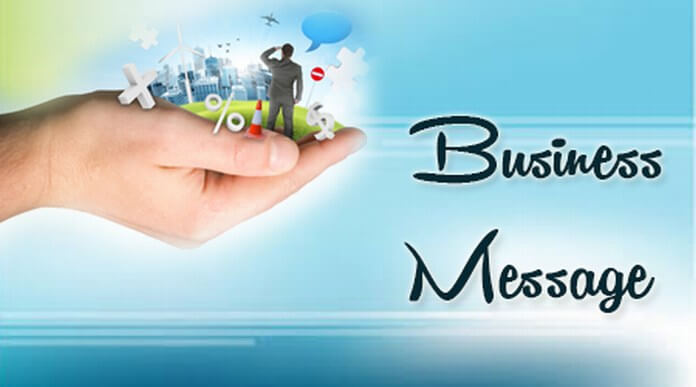 business birthday greetings message ; business-text-messages