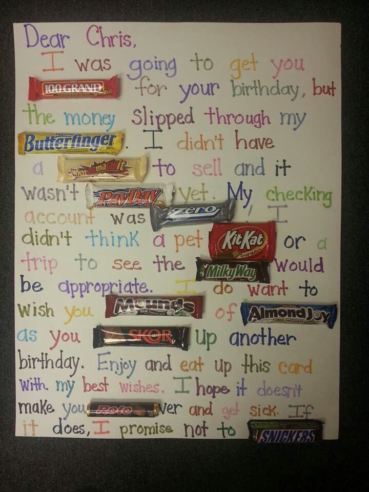 candy message poster for birthday ; 54ef5f6a7dfa06514ead43c90d66bbf3