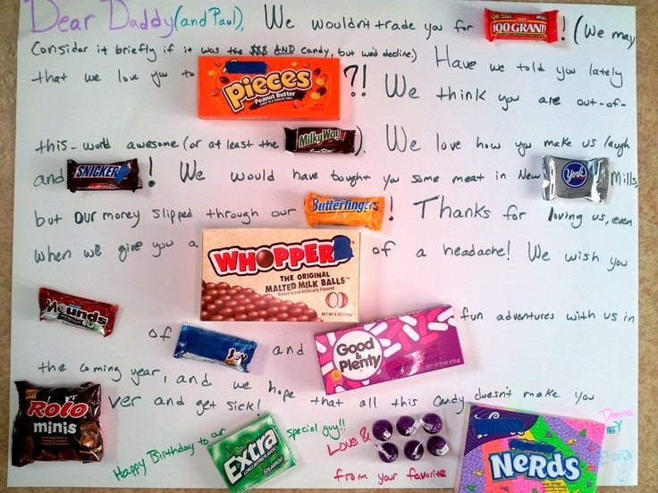 candy message poster for birthday ; candy-cards-for-dads-birthday-new-35-best-birthday-candy-poster-images-on-pinterest-of-candy-cards-for-dads-birthday