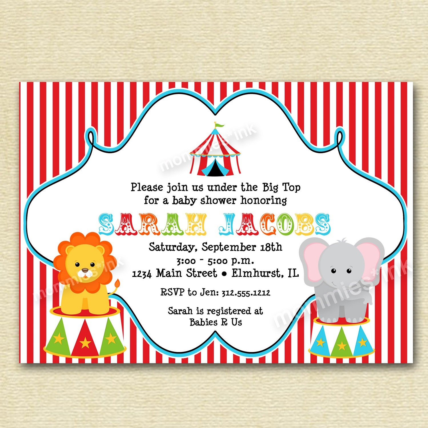 carnival themed birthday invitation wording ; Carnival-Birthday-Party-Invitations-Free-to-get-ideas-how-to-make-your-own-birthday-Invitation-design-1
