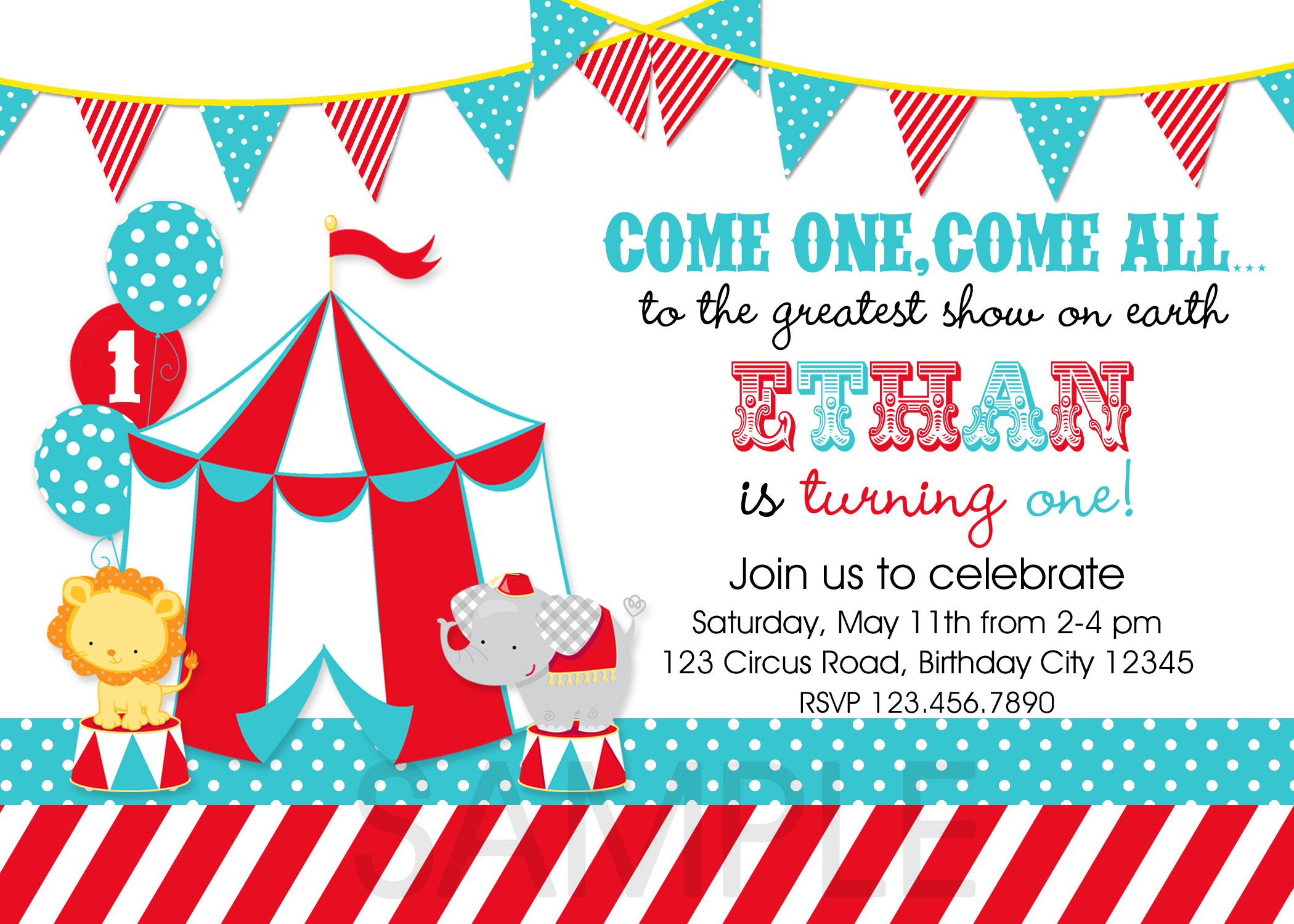 carnival themed birthday invitation wording ; Carnival-Themed-Birthday-Invitations-combined-with-your-creativity-will-make-this-looks-awesome-1